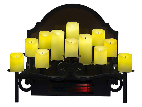 "Duraflame 20"" Infrared Electric Candle Holder Insert - DFI008"