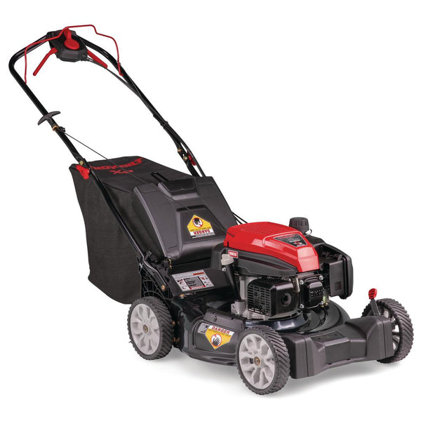 Troy-Bilt 300XP 21 in. 159 cc Gas Walk Behind Self Propelled Lawn Mower with Check Don't Change Oil, 3-in-1 TriAction Cutting System