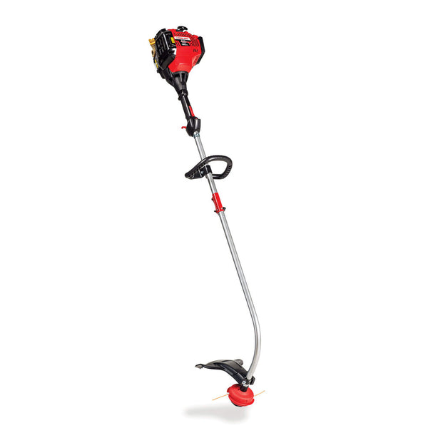 Troy-Bilt TB635EC Gas String Trimmer, Curved Shaft, 30cc 4-Cycle Engine, 17-In.