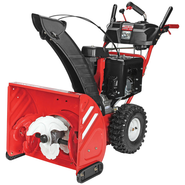 Troy-Bilt Vortex 2490 277cc Electric Start 24-Inch Three Stage Gas Snow Thrower