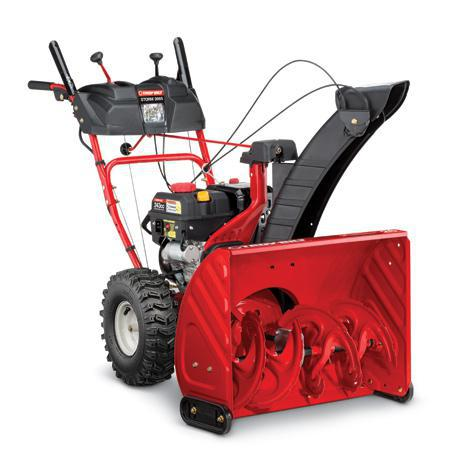 "Troy Bilt Storm 2665 26"" Two-Stage Snow Blower- 243cc Troy-Bilt Engine - In-Dash Headlight"