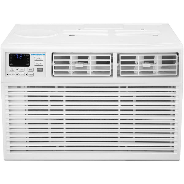 Emerson Quiet Kool 15,000 BTU 115V Window Air Conditioner with Remote Control, EARC15RE1, White [Factory Refurbished]