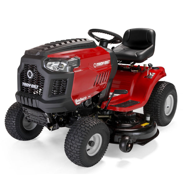 Troy-Bilt Bronco 46 19HP 540cc Briggs & Stratton, Automatic Transmission, 46-Inch, Riding Lawnmower