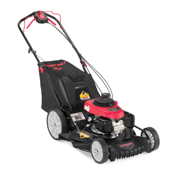Troy-Bilt TP365XP 21 in. 160 cc Honda Gas Walk Behind Self Propelled Lawn Mower with High Rear Wheels, 3-in-1 TriAction Cutting System