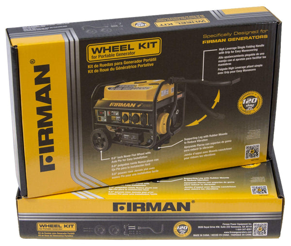 FIRMAN 1003 Open Frame Portable Generator Wheel Kit