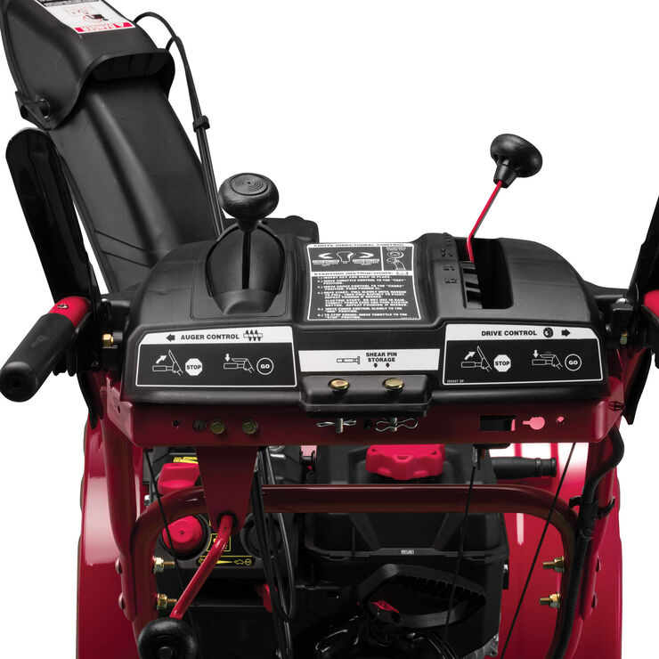 Troy Bilt Storm 2665 26 in. 243 cc 2-Stage Gas Snow Blower with Electric Start Self Propelled and 1-Hand Operation