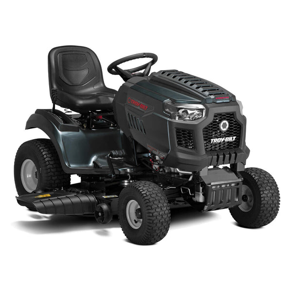 Troy-Bilt Super Bronco XP 46 in. 679 cc V-Twin Engine Hydrostatic Drive Fabricated Deck Gas Riding Lawn Tractor W/Mow in Reverse