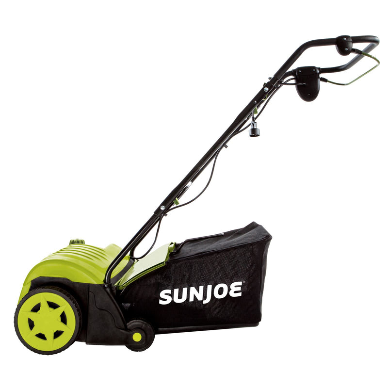 Sun Joe AJ800E Electric Lawn Dethatcher | 14 inch | 11 Amp | AirBoost Technology
