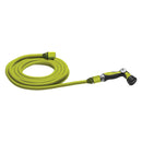 Sun Joe AJEXH50-SJG Expandable Lightweight Kink-Free Hose | 50-Foot | Quick Connectors