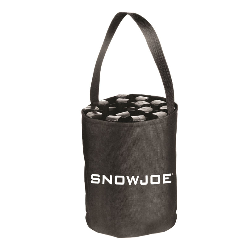 Snow Joe ATJ651 Thermoplastic Rubber TrackAssist Non-Slip Traction | 24-Inch | For Car Tires in Ice, Snow, Mud, and Sand (Black)