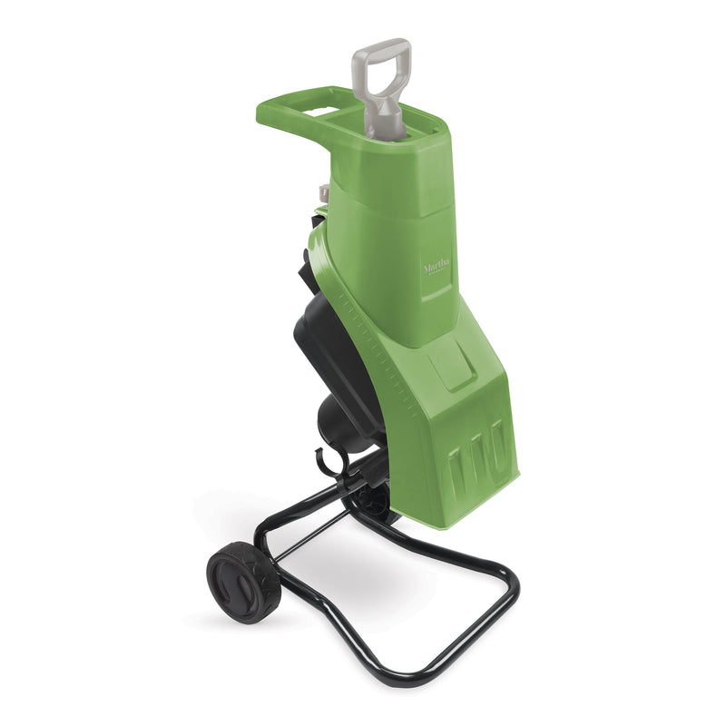 Martha Stewart MTS-EWC15 Self-Feeding Electric Wood Chipper | 15-Amp | 17:1 Reduction Ratio