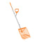 Ergie Systems ERG-MCKS22 Steel Shaft Muck Scoop with Auto Sifting Fork Basket | 22 Plastic Tines | 54-Inch Steel Shaft