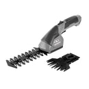 Sun Joe HJ604C-GRY 2-in-1 Cordless Grass Shear + Hedger | 7.2 V (Grey)