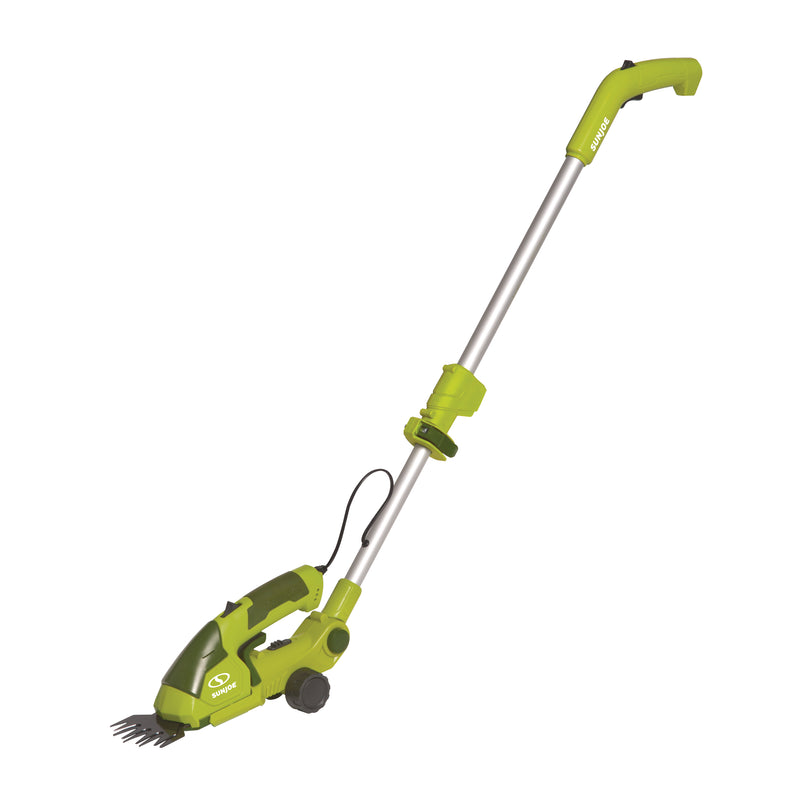 Sun Joe HJ605CC 2-in-1 Cordless Telescoping Grass Trimmer | 7.2 Volt