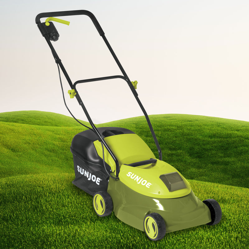 OPEN BOX Sun Joe MJ401C Cordless Lawn Mower | 14 inch | 28V
