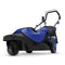 Sun Joe MJ404E-360-SJB Electric Lawn Mower | 3-Wheels | 16 Inch | 12 Amp | 360 Degrees Turn Radius (Blue)