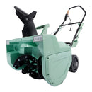 Martha Stewart MTS-22SB-MGN Electric Snow Thrower | 22-Inch | 15-Amp | w/ Dual LED Lights (Mint)
