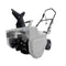 Martha Stewart MTS-22SB-MPL Electric Snow Thrower | 22-Inch | 15-Amp | w/ Dual LED Lights (Slate)
