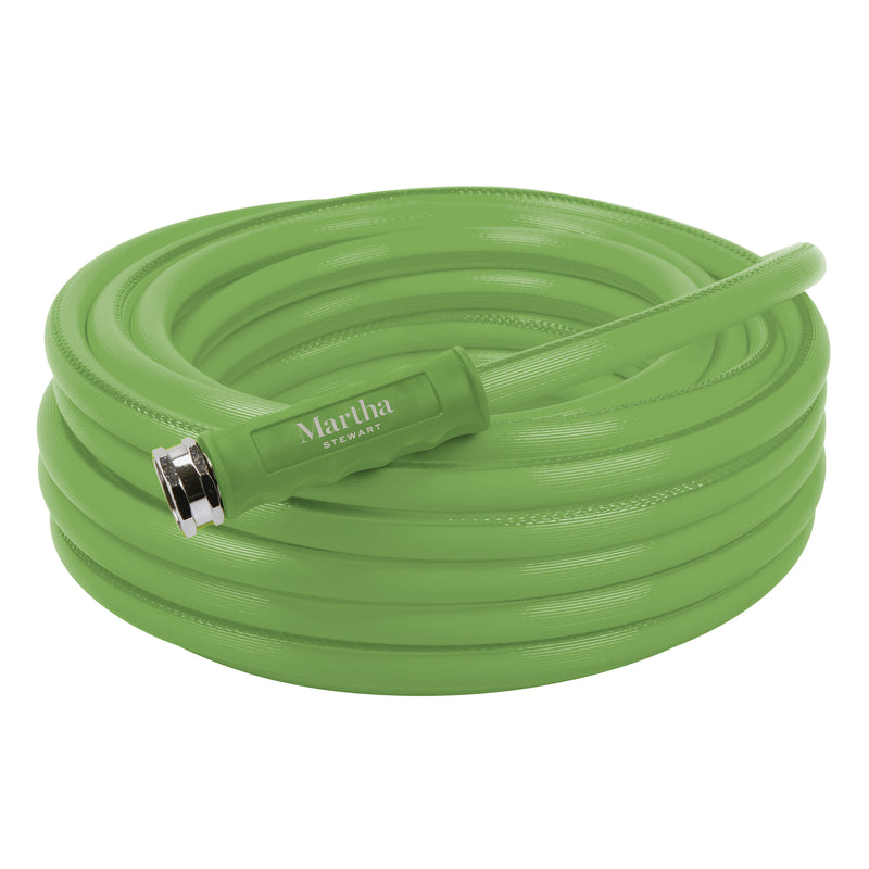 Martha Stewart MTS-APGH50 Heavy-Duty Max Flow All Purpose Garden Hose | 5/8-Inch | 50-Foot