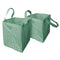 Martha Stewart MTS-MLB2-MGN 2-Pk. 20-In x 20-In x 24-In Garden Reusable Leaf Bag, Mint