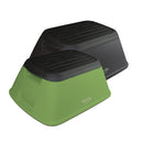 Martha Stewart MTS-STL7-2PK Safety Garden/Home Stool 2 Pack (Green/Black)