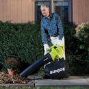 OPEN BOX Sun Joe SBJ604E 3-in-1 Electric Blower | 200 MPH | 12 Amp | Vacuum | Mulcher