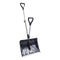 Snow Joe SJ-SHLV01-GRY Shovelution Strain-Reducing Snow Shovel (Gray) | 18-Inch | Spring Assisted Handle