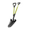 Sun Joe SJ-SHLV07 Strain-Reducing Spear Head Digging Shovel | 44-Inch | Spring Assisted Handle