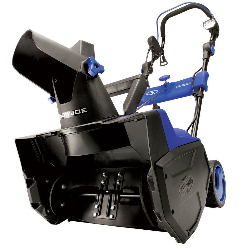 Snow Joe SJ619E Electric Single Stage  Snow Thrower | 18-Inch | 14.5 Amp Motor | LED Lights