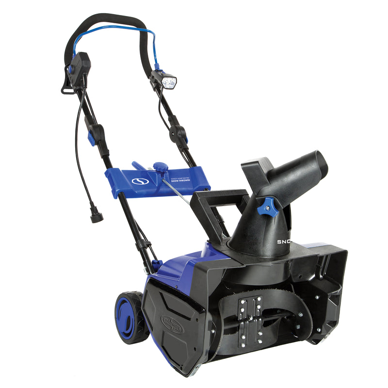 OPEN BOX Snow Joe SJ619E Electric Single Stage  Snow Thrower | 18-Inch | 14.5 Amp Motor | LED Lights