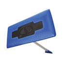 OPEN BOX Snow Joe SJBLZD 2-In-1 Telescoping Snow Broom + Ice Scraper | 18-Inch Foam Head (Blue)