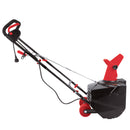 Snow Joe SJM988 Electric Single Stage Snow Thrower | 18-Inch | 13.5 Amp Motor | Headlights (Red)