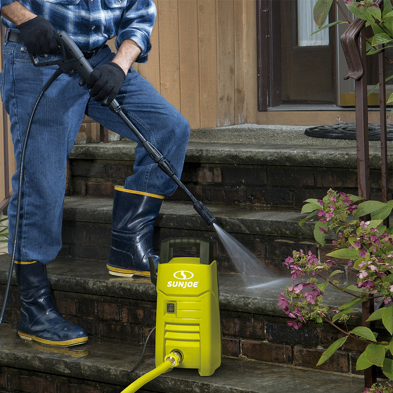 OPEN BOX Sun Joe SPX200E Electric Pressure Washer | 1350 PSI | 1.45 GPM | 10.0-Amp