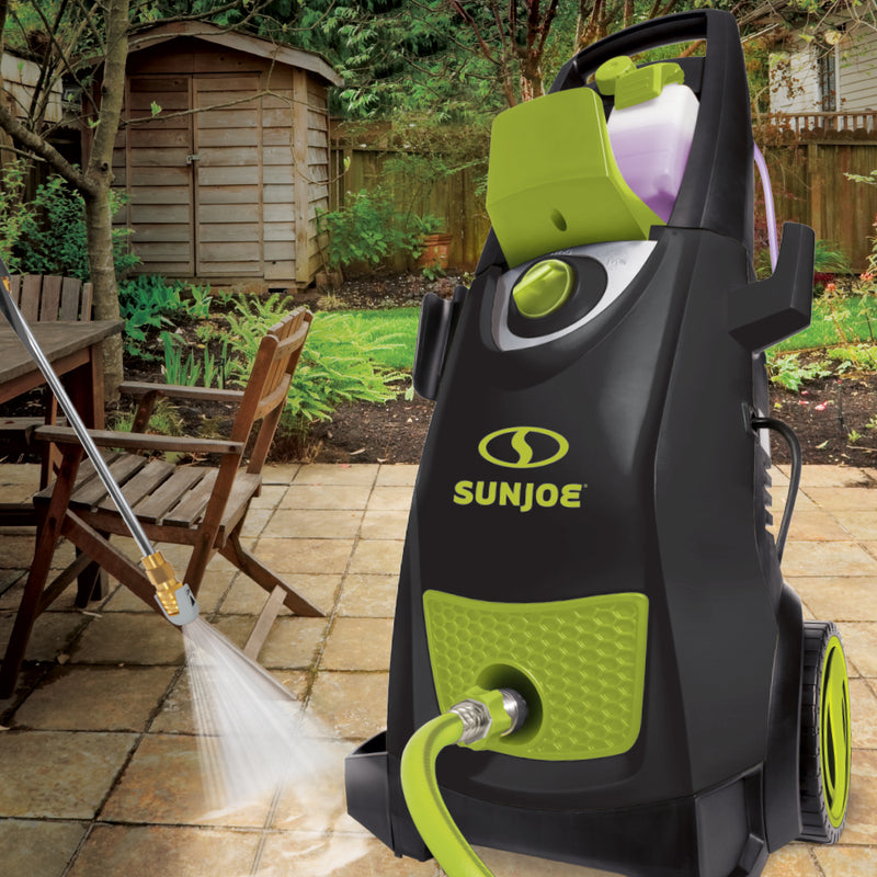 Sun Joe SPX3000-MAX Electric Pressure Washer | 2800-PSI MAX | 1.30 GPM | High Performance Brushless Induction Motor