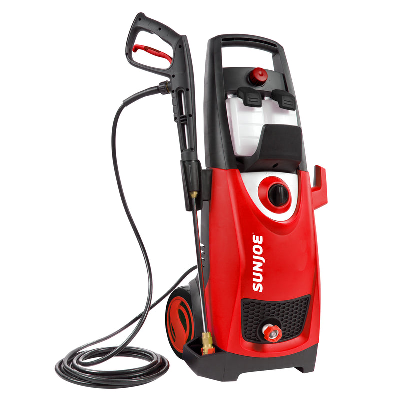 Sun Joe SPX3000-RED Electric Pressure Washer | 2030 PSI | 1.76 GPM | 14.5-Amp | Red