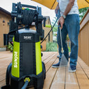Sun Joe SPX3001 Electric Pressure Washer | 2030 PSI | 1.76 GPM | 14.5-Amp | Hose Reel
