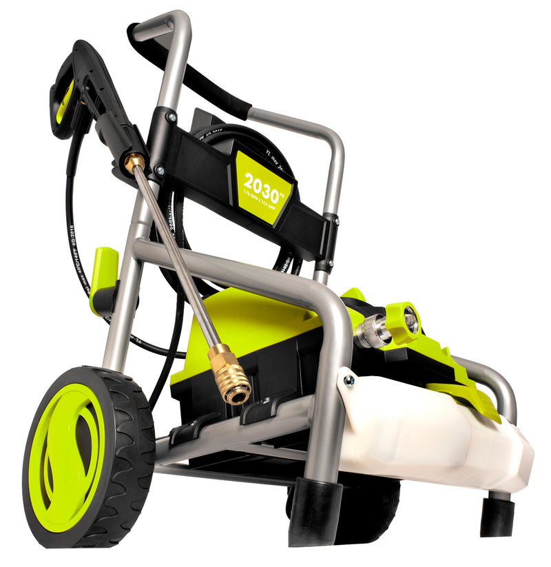 Sun Joe SPX4000 Electric Pressure Washer | 2030 PSI | 1.76 GPM | 14.5-Amp | Pressure Select Technology