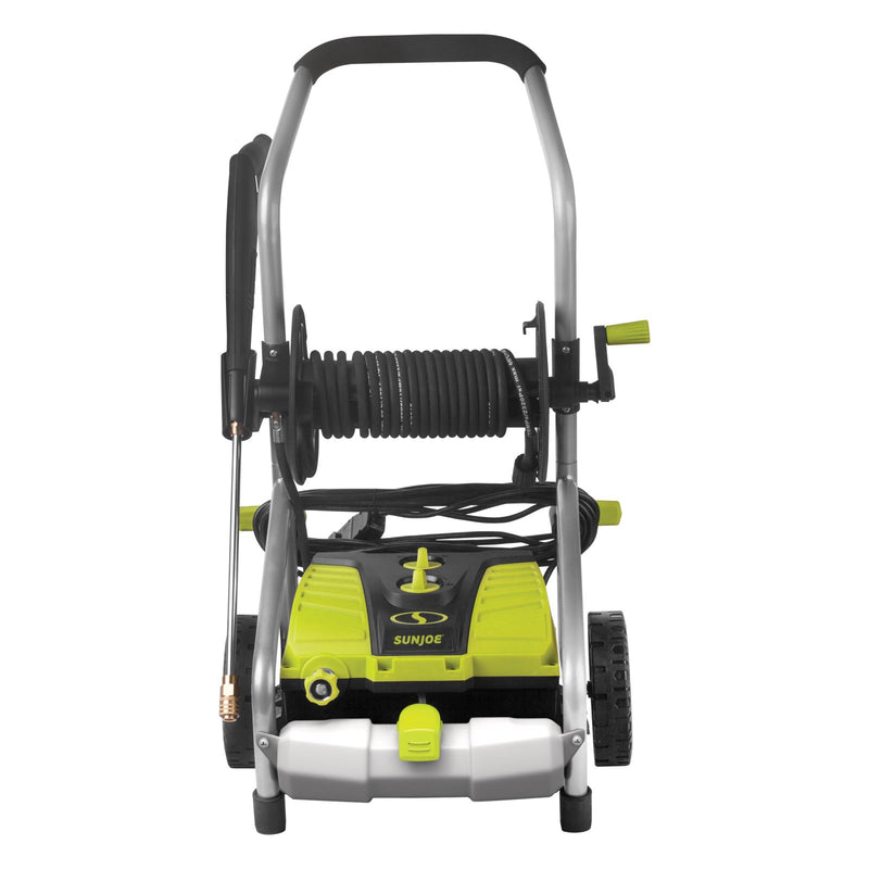 Sun Joe SPX4001 Electric Pressure Washer | 2030 PSI | 1.76 GPM | 14.5-Amp | Pressure Select | Hose Reel