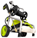 OPEN BOX Sun Joe SPX4001 Electric Pressure Washer | 2030 PSI | 1.76 GPM | 14.5-Amp | Pressure Select | Hose Reel