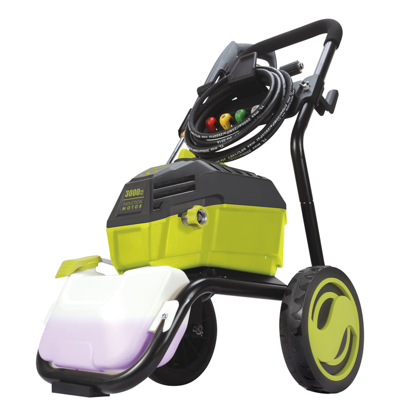 Sun Joe SPX4600 High Performance Induction Motor Electric Pressure Washer | 3000 PSI Max | 1.3 GPM | Roll Cage