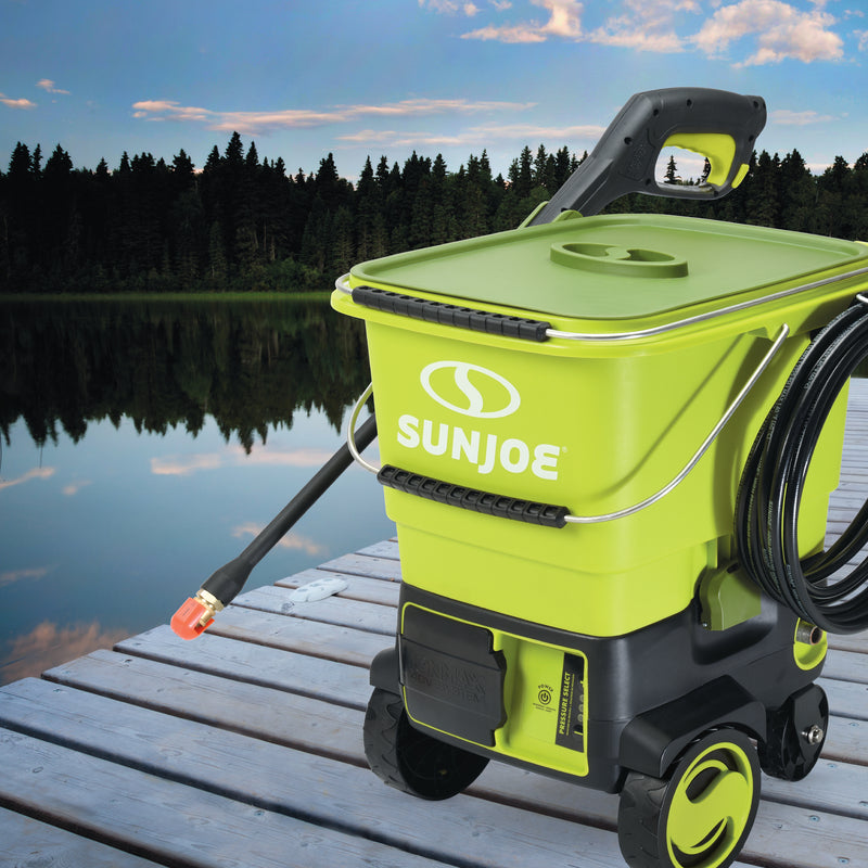 Sun Joe SPX6001C-CT Cordless Pressure Washer | 1160 PSI  (Core Tool Only)