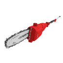 Sun Joe SWJ801E-RED Electric Telescoping Pole Chain Saw, Red | 8-Inch | 7-Amp