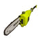 Sun Joe SWJ802E Electric Multi-Angle Pole Chain Saw | 8 inch | 6.5 Amp (Green)
