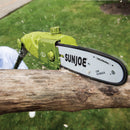OPEN BOX Sun Joe SWJ803E Electric Multi-Angle Pole Chain Saw | 10 inch | 8.0 Amp (Green)