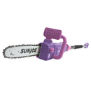 Sun Joe SWJ807E-PRP Electric Convertible Pole Chain Saw | 10 inch | 8.0 Amp (Purple)