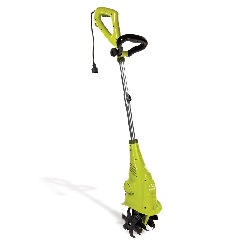 OPEN BOX Sun Joe TJ599E Electric Garden Cultivator | 6.3-Inch | 2.5 Amp | Green
