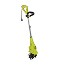 Sun Joe BDL-TJ599E Electric Cultivator Bundle (TJ599E + Safety Glasses) | 2.5-Amp | 6-Inch | Green |