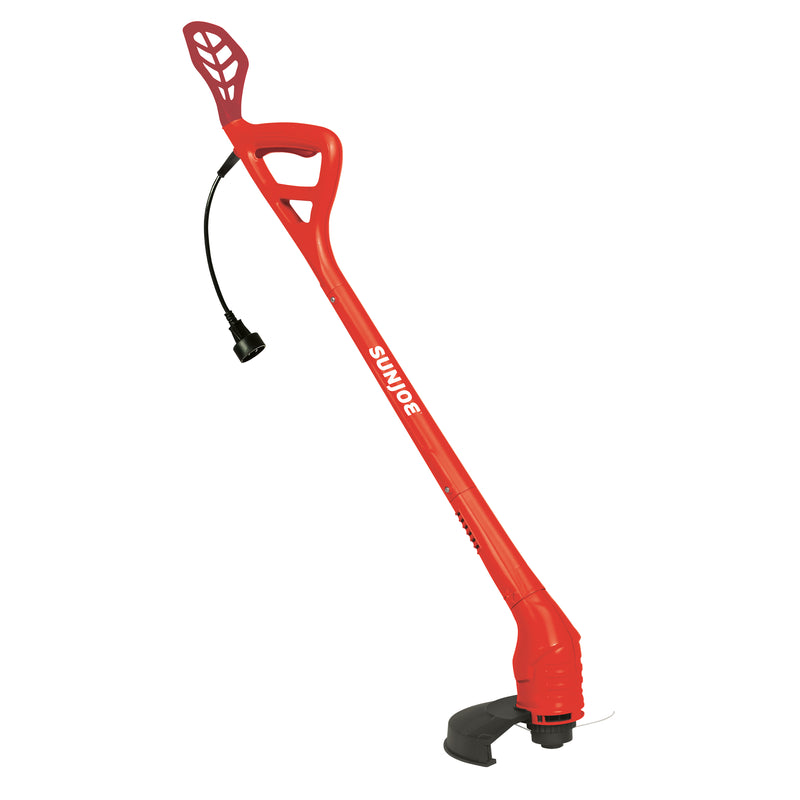Sun Joe TRJ607E-RED Electric String Trimmer | 10-Inch | 2.5 Amp (Red)