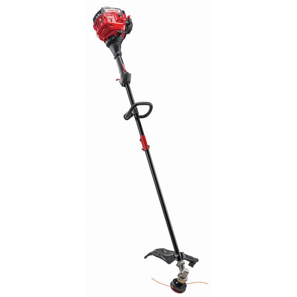 Troy-Bilt 25 cc 2-Cycle Straight Shaft Attachment Capable Gas Trimmer with JumpStart Capabilities