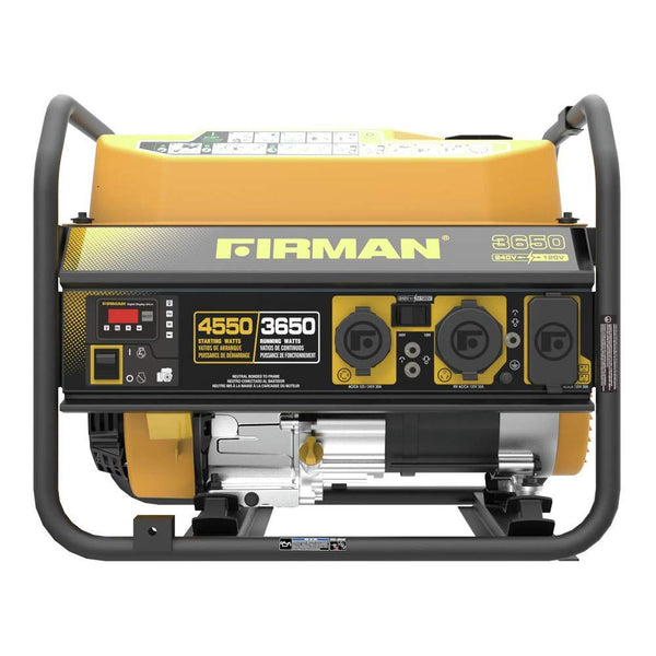 Firman P03606 4550/3650 Watt 120/240V Recoil Start Gas Portable Generator (Renewed)